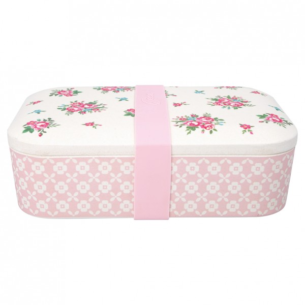 GreenGate Bambus Lunch Box Constance White