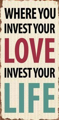 "Magnet, ""Where you invest your Love"""