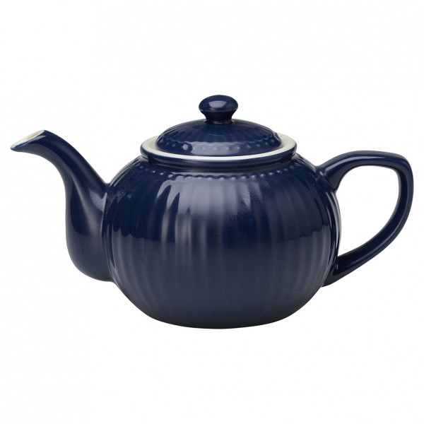 GreenGate Teekanne Alice Dark Blue