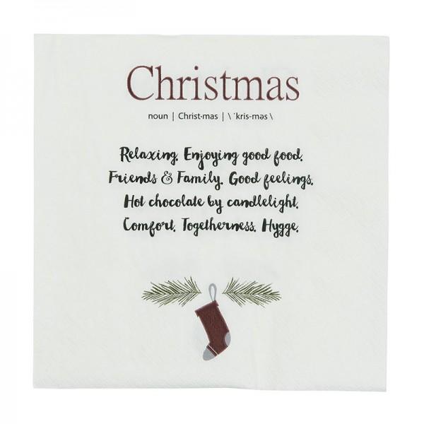 "Ib Laursen Papierservietten ""Christmas"""