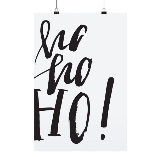 """Tafelgut Poster """"Ho Ho Ho"""", A3"""