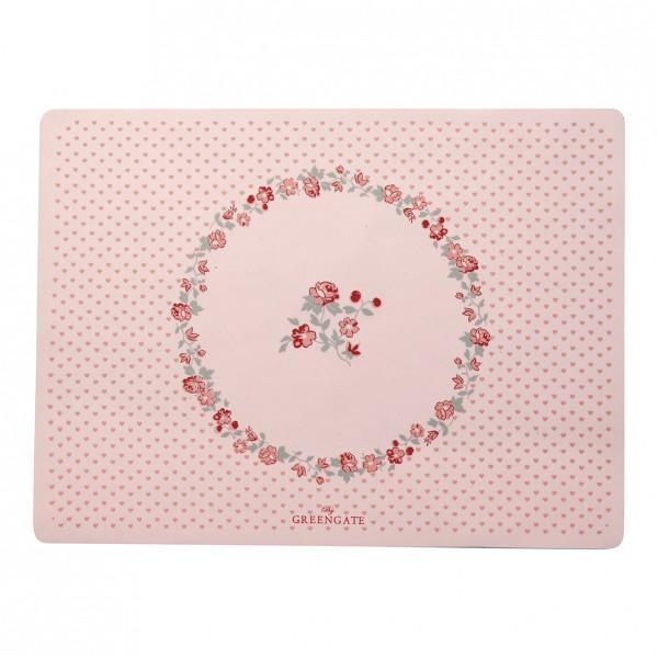 GreenGate Baby Placemat/Platzset Ruby petit pale pink