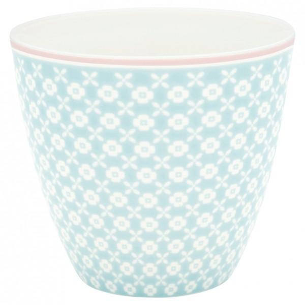 Greengate Latte Cup Helle pale blue