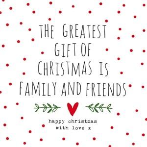 "Papierservietten ""The Greatest Gift of Christmas"""