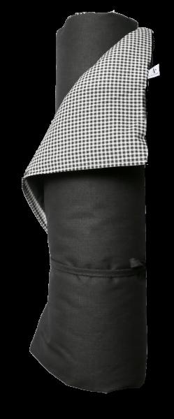 Au Maison Picknickmatte / Liegeauflage Linen/Pepita, Grey/Almost black