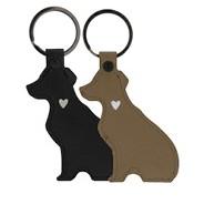 Schlüsselanhänger Hund, Schwarz