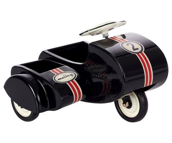 Maileg Scooter mit Seitenwagen, schwarz
