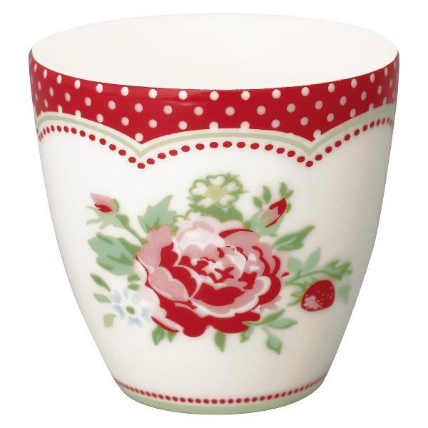 GreenGate Mini Latte Cup Mary white