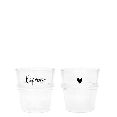 Bastion Collections Tumbler / Espresso Glas