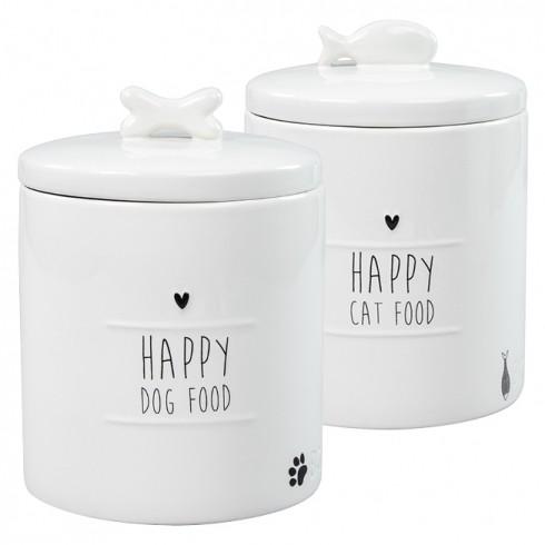 Bastion Collections Vorratsglas / Happy Cat Food