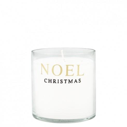 "Bastion Collections Kerze im Glas ""Noel Christmas"""
