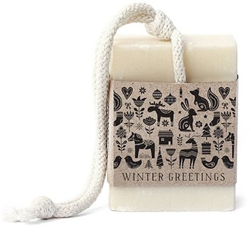 "Tafelgut Seife ""Winter Greetings"""
