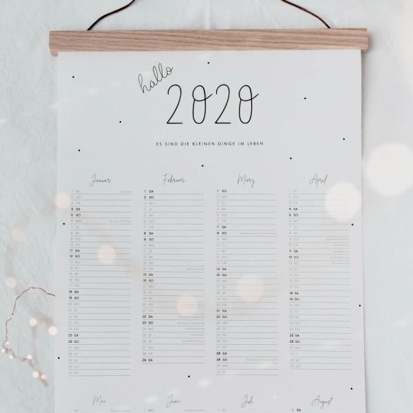 Wandkalender 2020