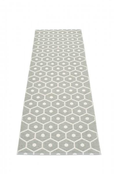 Pappelina Kunststoffteppich HONEY, warm grey - vanilla, 160 cm