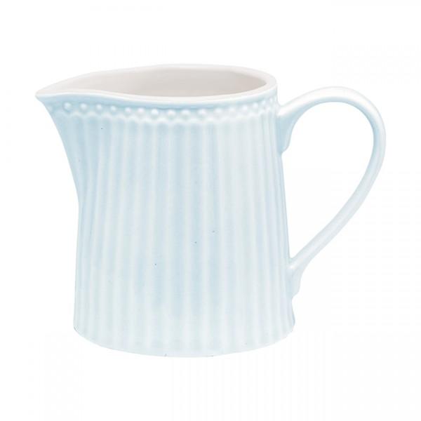 GreenGate Milchkännchen / Creamer, Alice Pale Blue