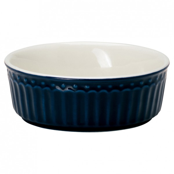 Greengate Kleine Auflaufform/Pie dish mini, Alice Dark Blue
