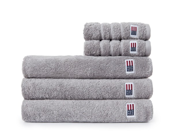 Lexington Original Towel/Handtuch, 30x50 cm, dark gray