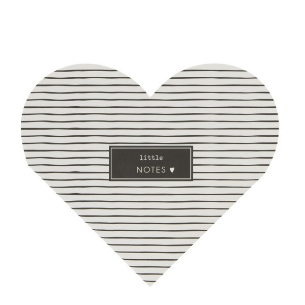 Bastion Collections Notizzettel Heart Notes, Little Notes