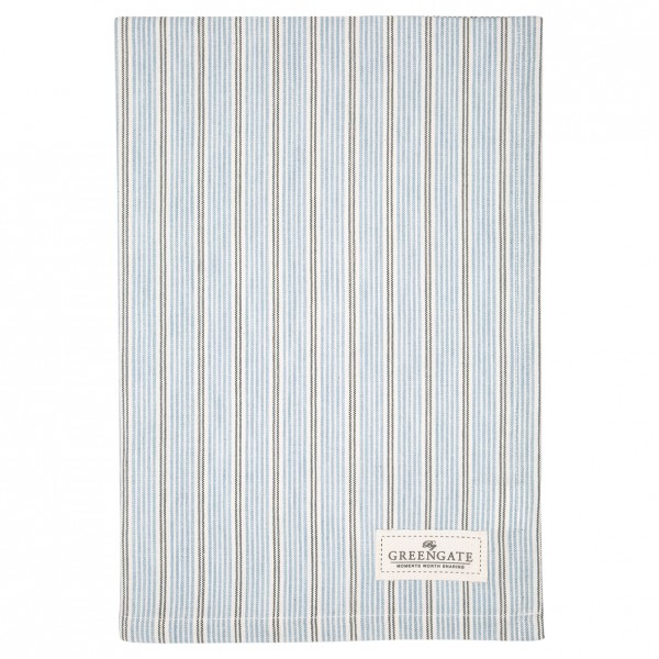GreenGate Geschirrtuch Tova pale blue