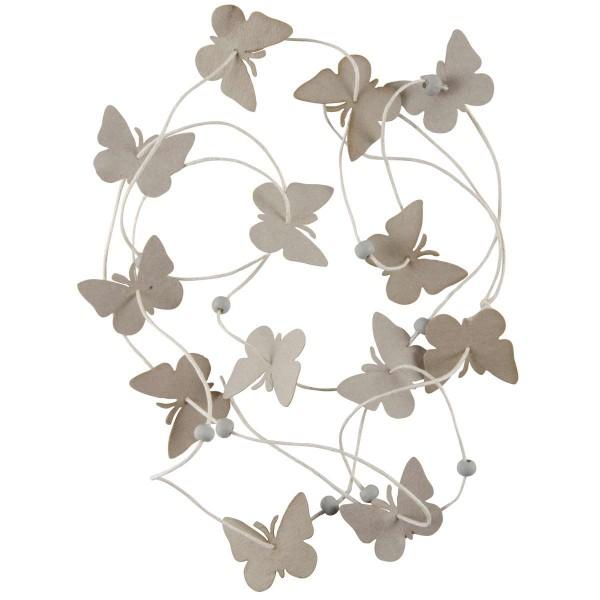 Ib Laursen Schnur mit Papierschmetterlingen,Natur