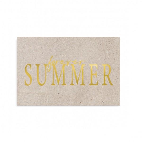 """Tafelgut, Karte """"Forever Summer"""""""
