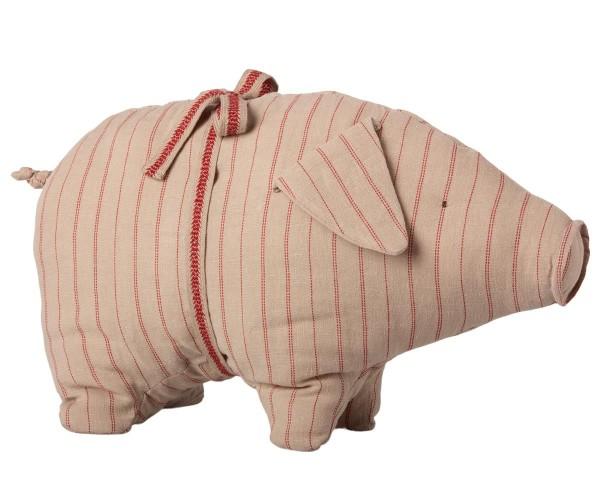 Maileg, Schweinchen Pig with Stripes, medium