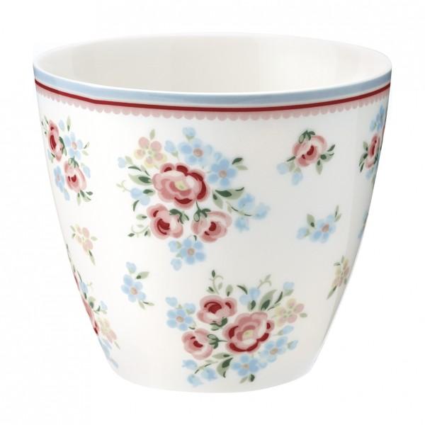 Greengate Latte Cup Nicoline White