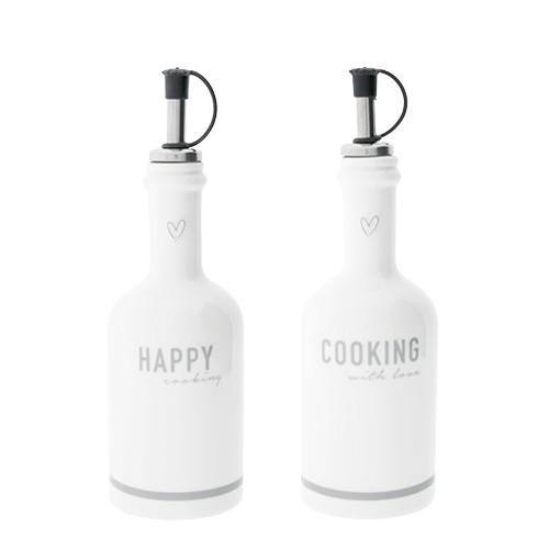 Bastion Collections Essig & Ölset Happy Cooking, gau