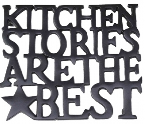 """Bastion Collections Topfuntersetzer """"Kitchen Stories are the best"""""""