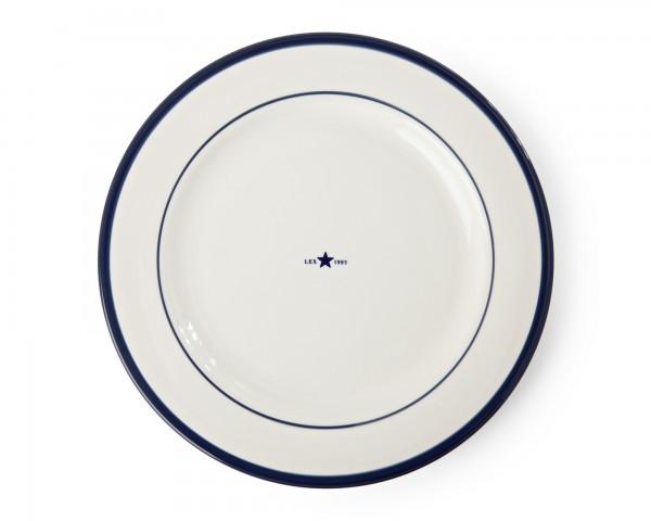 Lexington Dinner Plate/Speiseteller, blau