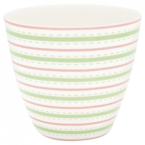 Greengate Latte Cup Sari white