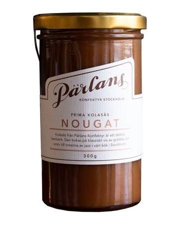 Pärlans Konfektyr Nougat, Karamellsauce, 300 g