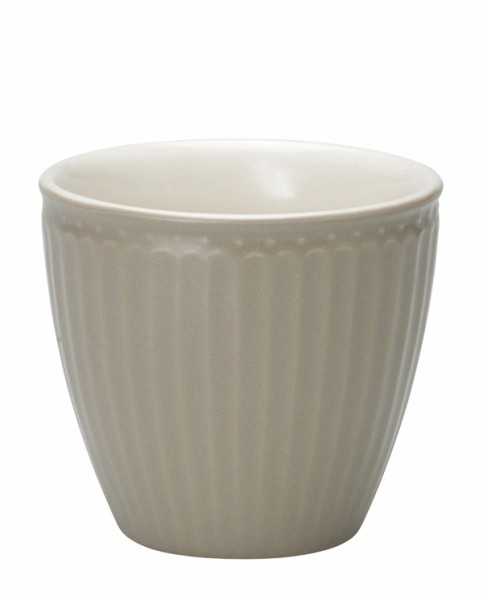 GreenGate Latte Cup Alice Warm Grey