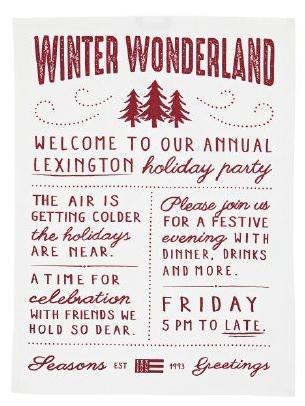 Lexington Geschirrtuch / Kitchen Towel Winterwonderland