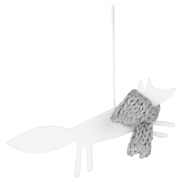 Räder Weihnachtsanhänger / Baumschmuck Fuchs