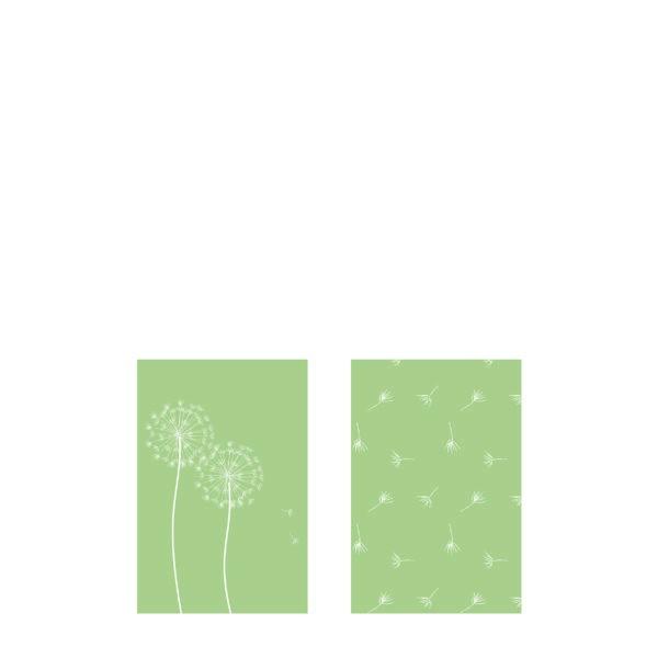 Streichholzschachtel Maskros (Pusteblume)