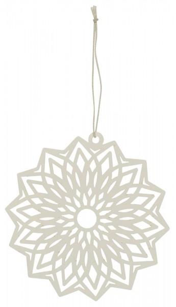 Ib Laursen Scherenschnitt Blume Weiß, groß