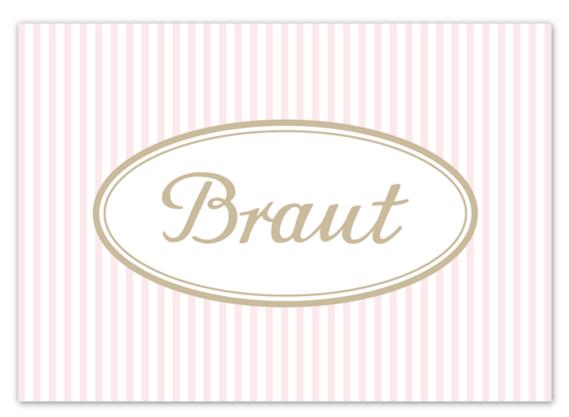 Krima & Isa Postkarte Braut