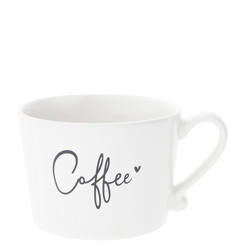 Bastion Collections Cup White / Coffee in Black