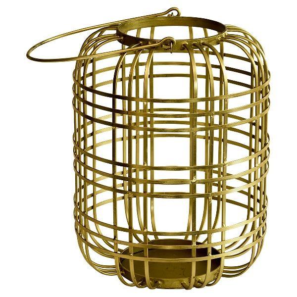 Greengate Laterne / Windlicht, gold