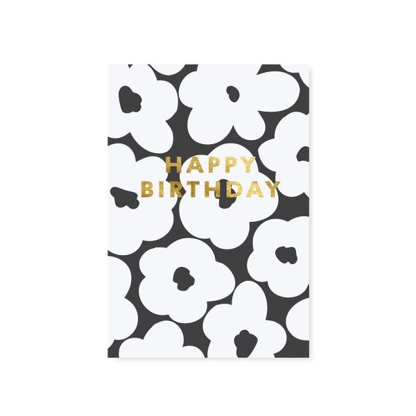 "Tafelgut, Karte ""Blossom - Happy Birthday"""
