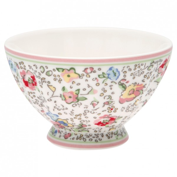 GreenGate Schale / French Bowl Vivianne white, medium