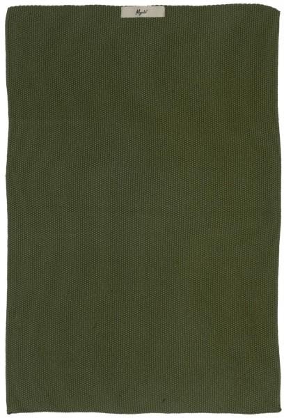 Ib Laursen Handtuch Mynte, dunkelgrün
