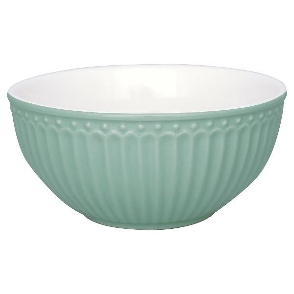 Greengate Schale / Cereal Bowl, Alice Dusty Mint