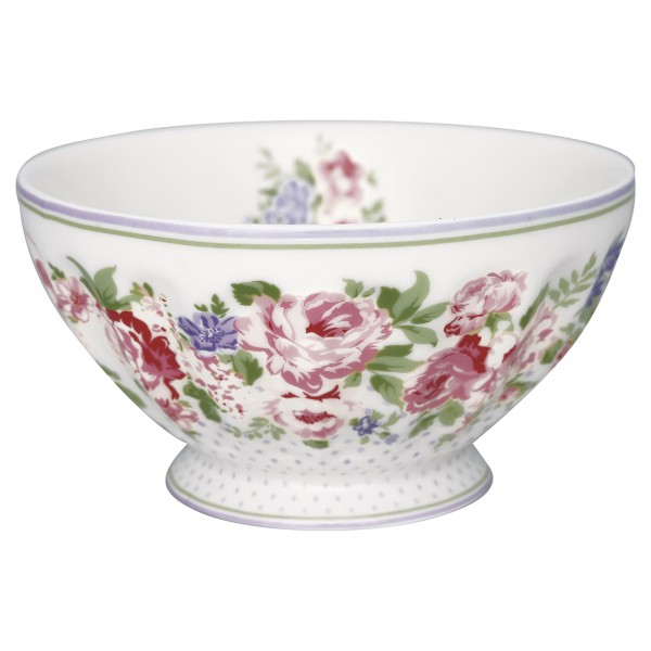 GreenGate Schale / French Bowl Rose White, xlarge