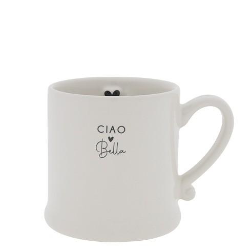 Bastion Collections Small Mug White / Ciao Bella
