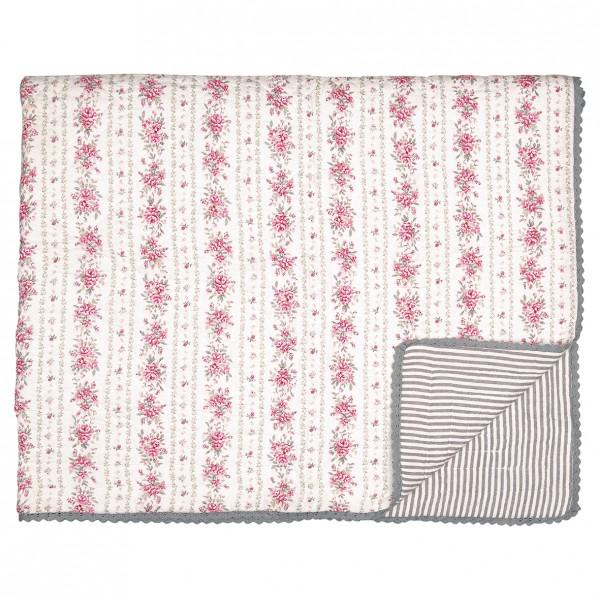 GreenGate Kleiner Quilt / Bed Cover Flora Vintage
