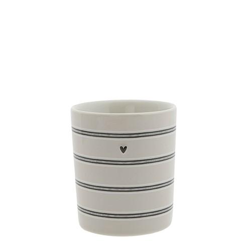 Bastion Collections Becher / Mug Titane Stripes