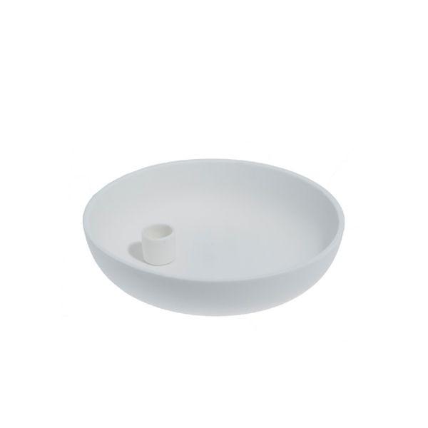 Storefactory Kerzenhalter Lidatorp weiß, klein