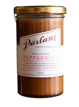 Pärlans Konfektyr Pepparmint, Karamellsauce, 300 g